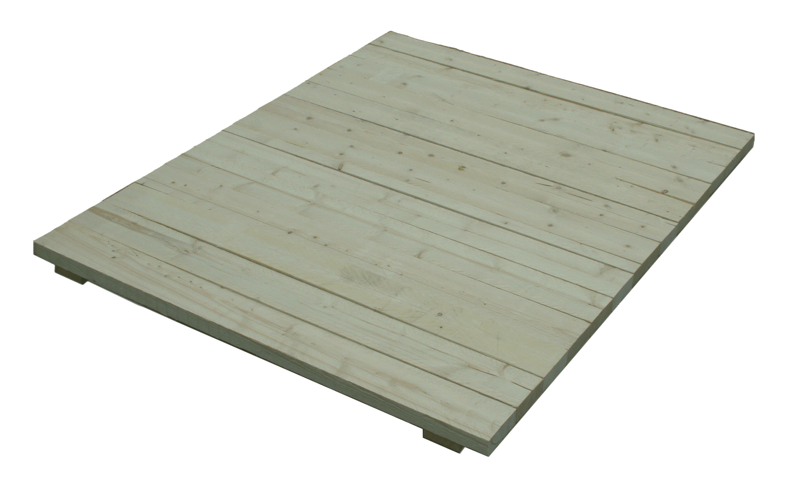 Pallet racking for Tanalised timber decking